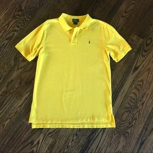 Polo - yellow XL